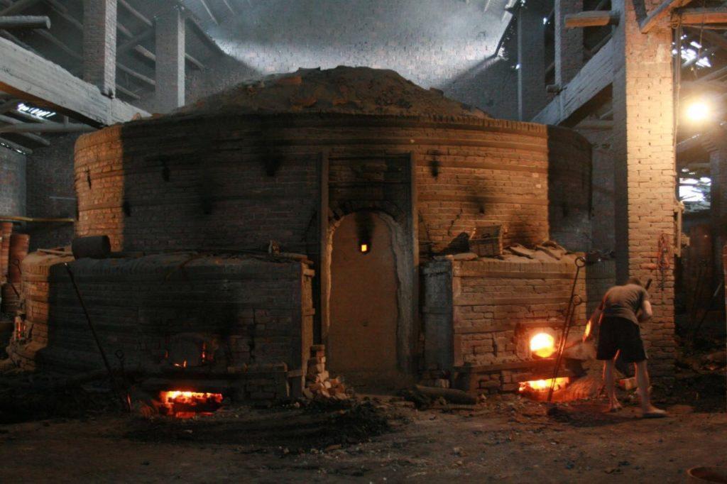 Round kiln