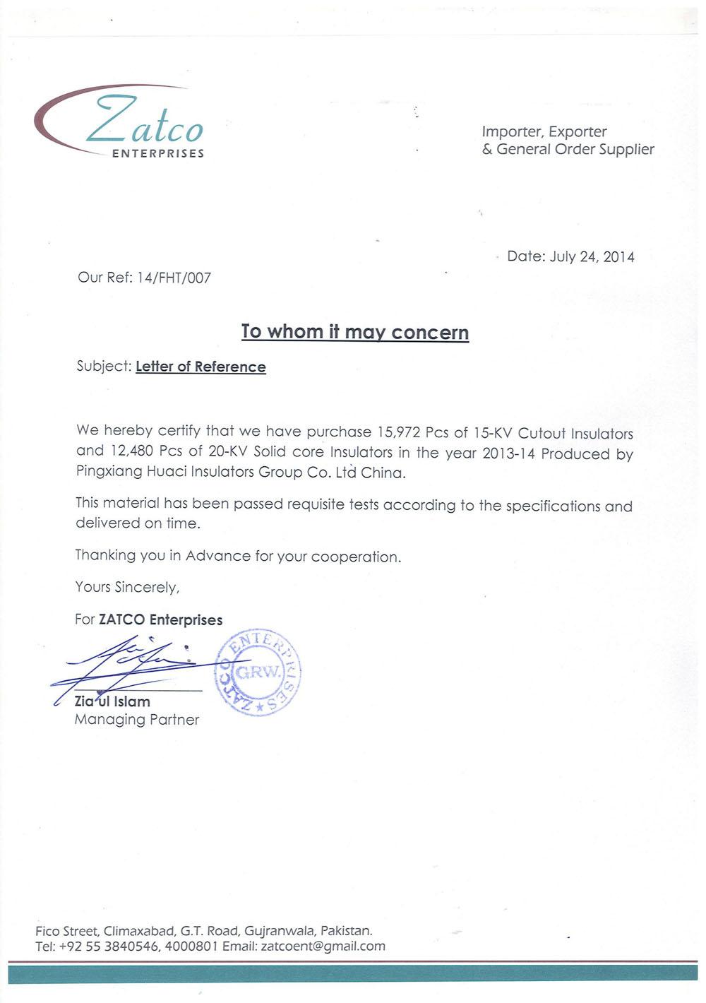 Pakistan ZATCO Enterprises